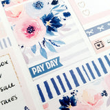Pay day mini flags - mini planner stickers