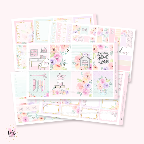 Planning Time - sticker kit