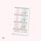 FOILED Say Hello to Spring kit - glossy gold - limited edition