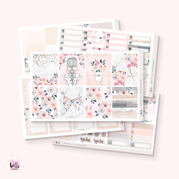 Serenity sticker kit