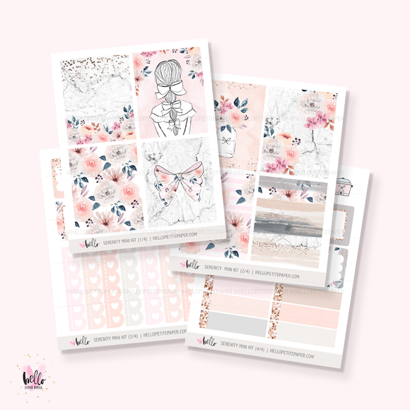 Serenity  - Mini sticker kit