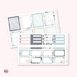 Snow - planner sticker kit