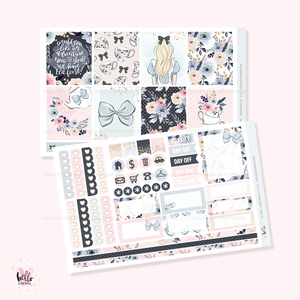 Tea time  - Horizontal sticker kit