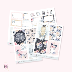 Tea time - Mini sticker kit