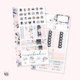 Tea time  - Personal size sticker kit