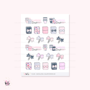 TN love (Constellation) - planner stickers