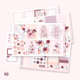 Valentine's - planner sticker kit