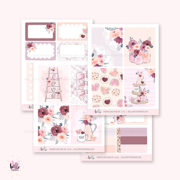 Valentine's  - Mini sticker kit