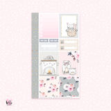 Warm and Cozy - Personal size sticker kit