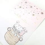Warm and Cozy - Gold Foil Card