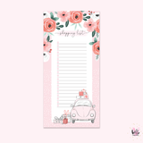 Long List Notepad - Christmas