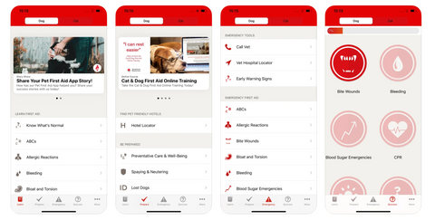 Pet First Aid on iOS by Red Cross