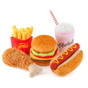 American Classics - Fried Chicken Plush Dog Toy