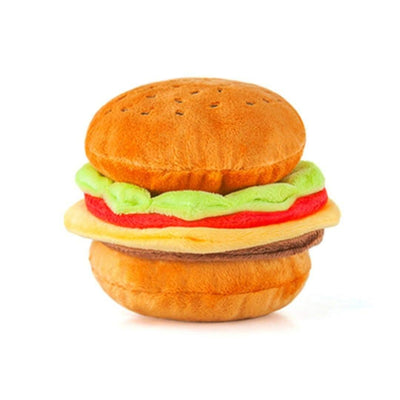 American Classics - Burger Plush Dog Toy