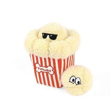 Hollywoof Collection - Poppin' Pupcorn Dog Toy