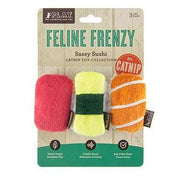 Feline Frenzy Sassy Sushi Cat Toy Set