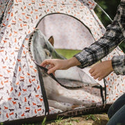 Scout & About Outdoor Dog Tent (Vanilla)