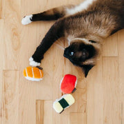 Feline Frenzy Sassy Sushi Cat Toy