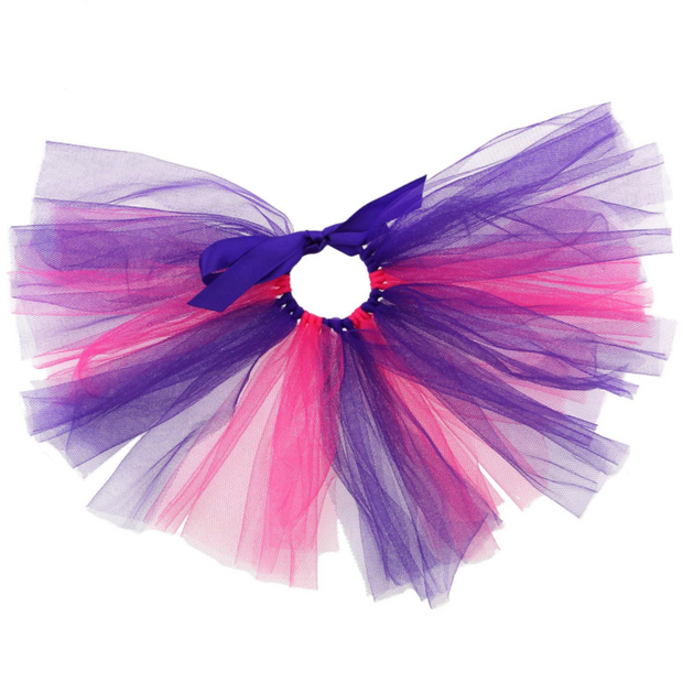 Pink and Purple Tulle Dog Tutu | MOBF