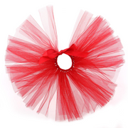 Red Tulle Dog Tutu