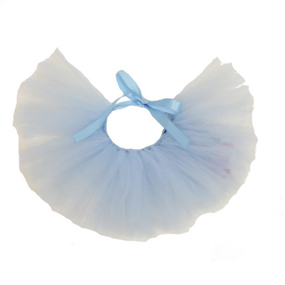 Sky Blue Tulle Dog Tutu