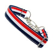 Dog Collars - American Flag Martingale Dog Collar