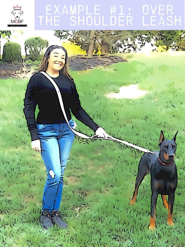 "Dog Collars - Anti-Pull Adjustable Dog Leash ""X-Leash"""