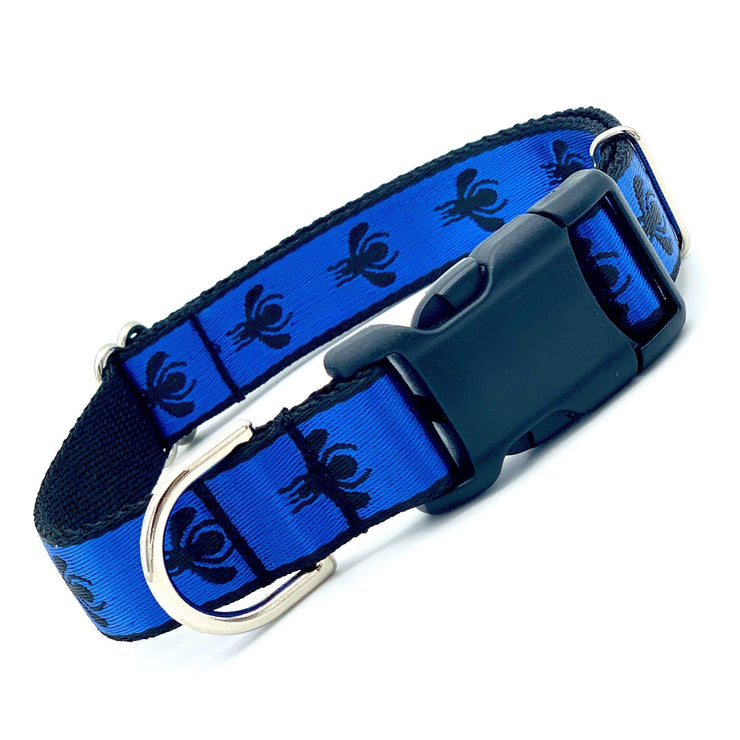 Dog Collars - Blue Bee Dog Collar