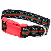 Dog Collars - Classic Striped Dog Collar
