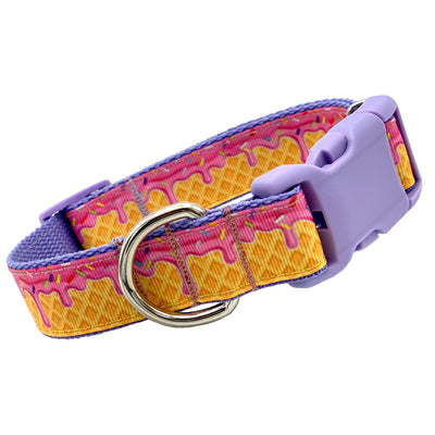 Dog Collars - Cute Ice Cream Cone Dog Collar