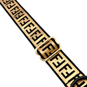 Dog Collars - Furendi Gold And Black Dog Collar
