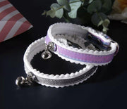 Dog Collars - Gradient Holographic Small Pet Collar With Bell