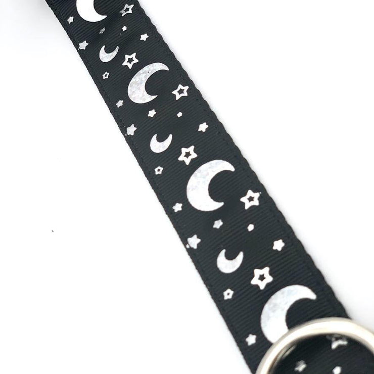 Dog Collars - Luna Holographic Dog Collar