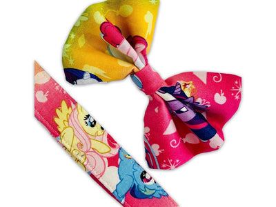 Dog Collars - My Little Pony Rainbow Dog Collar Bow Tie