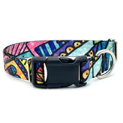 Dog Collars - NY Subway Graffiti Dog Collar