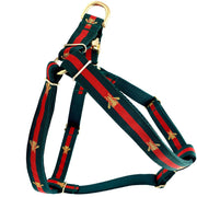 Dog Collars - Poochie Golden Bee Step-In Dog Harness