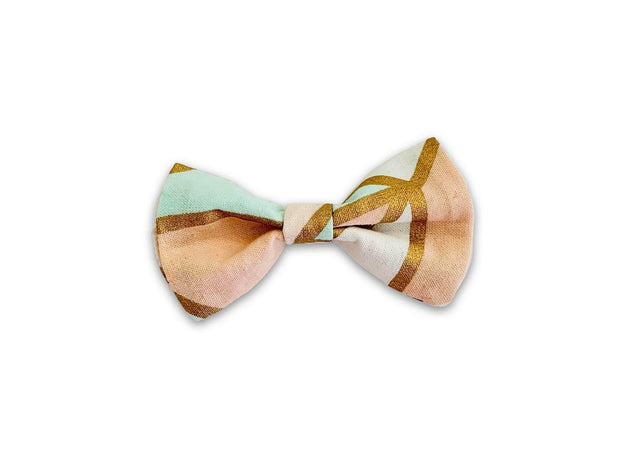 Dog Collars - The Hara Geometric Dog/Cat Collar Bow Tie