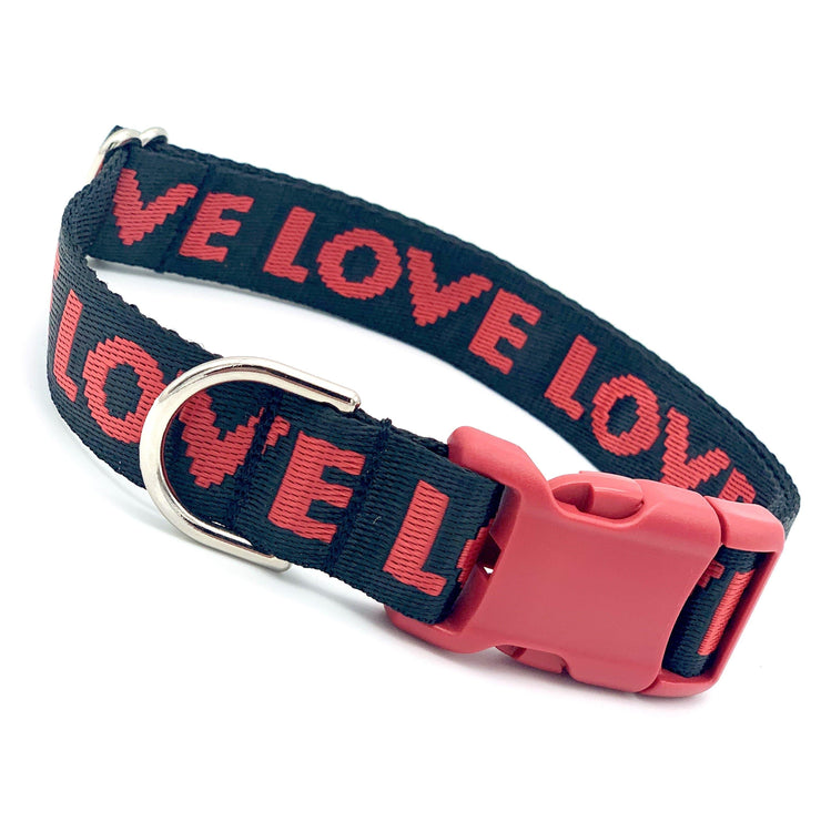 Dog Collars - The LOVE Dog Collar | MOBF