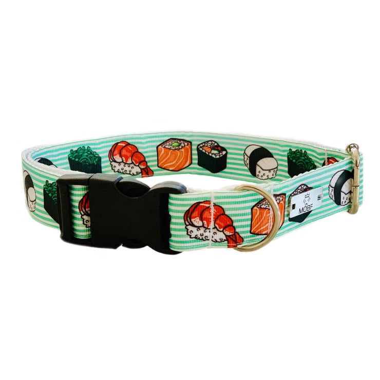 Dog Collars - The Sushi Dog Collar | MOBF