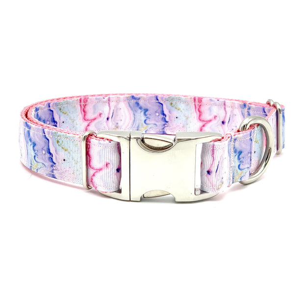 Dog Collars - Watercolor Marble Dog Collar