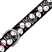 Hey Boo Halloween Dog Collar