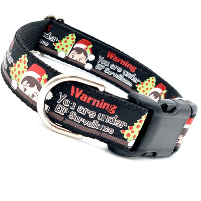 Elf Surveillance Dog Collar