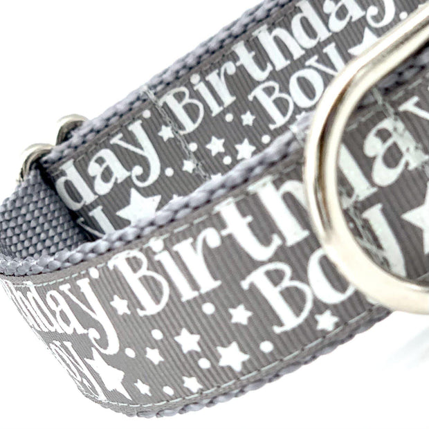 Boy Birthday Dog Collar | MOBF