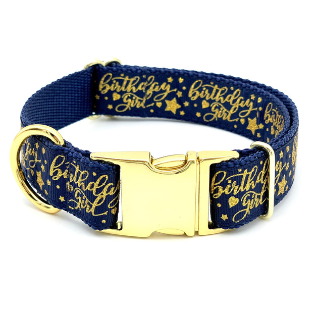 Birthday Girl Dog Collar | MOBF