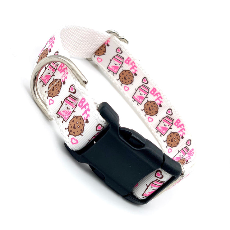 The BFF - Milk and Cookies Cute Dog Collar