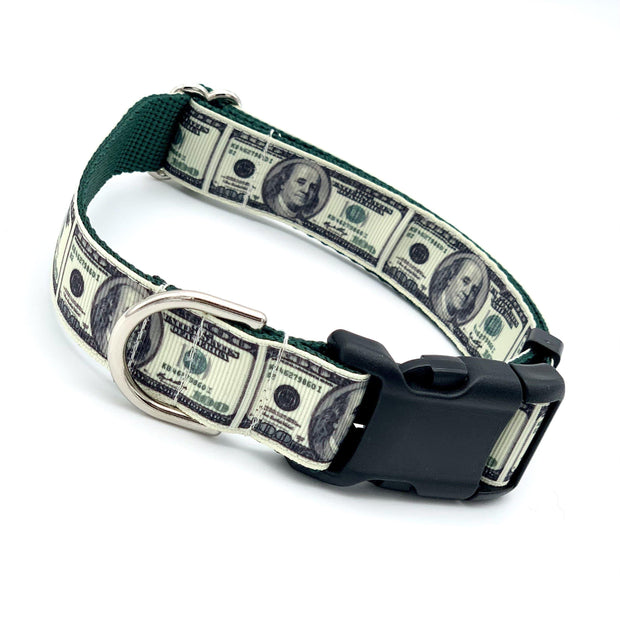 All About Benjamins - Money Dog Collar | MOBF