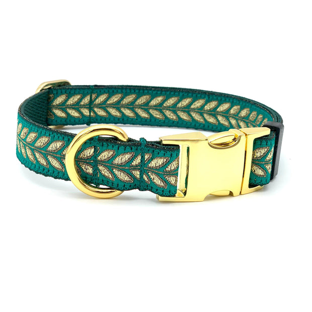 Jewel Toned Dog Collar