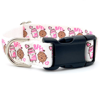 BFF - Milk and Cookies Cute Dog Collar