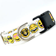 Funny Faces Emoji Dog Collar | MOBF