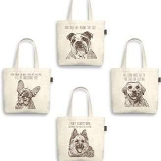 Owner Apparel - Best In Show Funny Dog Tote Bag - Labrador (All Food Must Go To The Lab)